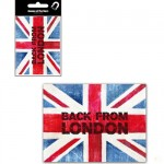London Union Jack metal magnet