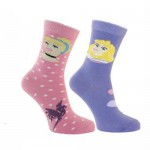 2 pairs of socks Disney Princess 19-22
