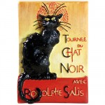 Le Chat Noir Rouge magnet