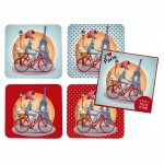 I Love Paris Box of 4 coasters