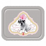 Eccentric Dog little tray 23.5 x 17.5 cm