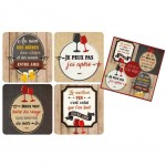 rèves de Comptoir Box of 4 coasters