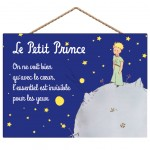 The Little Prince of Saint Exupery wall decoration 29 x 19 cm