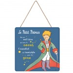 The Little Prince of Saint Exupery wall decoration 19 x 19 cm