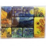 Set of 9 magnets - Van gogh