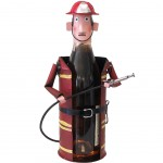 Support metal bottle - The Fireman