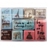 Set of 9 magnets - Paris