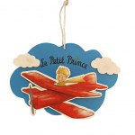 The Little Prince of Saint Exupery wall decoration 18 x 12.5 cm