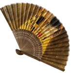 Decorative and useful fan Klimt