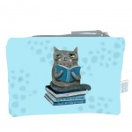 Crasy Cat by Allen cotton pouch