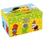 The funny little bugs jewelry box