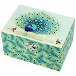 Paon musical jewelry box