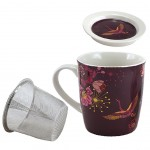 Mug with infuser for tea - HANA Purple