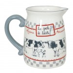 """Milk pot"" ceramic pitcher"