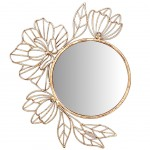 Wall decoration Mirror Flowers