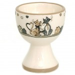 Cats in Love Egg cup