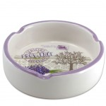 Provence Small ceramic ashtray