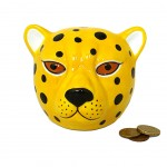 LEOPARD Money Box 9 cm