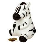 Zebra Money Box 16 cm
