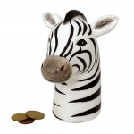 Zebra Money Box 15 cm