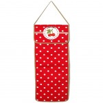 Cherry red bread bag 70 x 25 cm