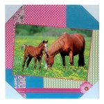 Horse Portrait Canvas frame