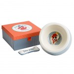 Gift box dog - Bowl and toy