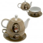 Jack Russell Set cup and teapot