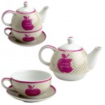 Je suis � croquer Set cup and teapot