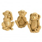 Monkey statues Resin - said nothing, nothing seen, nothing heard