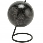 Black and Silver Earth Globe