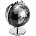 Black and silver globe decoration
