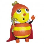 The funny little bugs queen Betty Bee Figure