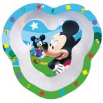 Mickey Club House melamine bowl