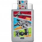 Reversible Star Wars Bedclothes 140 x 200 cm