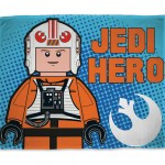 LEGO Star Wars polar blanket