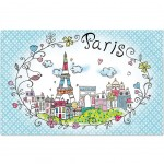 Paris Bucolic Placemat