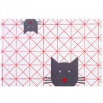 Cats and Hearts Placemat