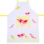 Graphic Birds Adult Apron