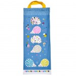 Hedgehogs bread bag 69 x 27 cm