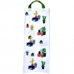 Cats and cactus bread bag 69 x 27 cm