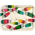 Small bamboo tray - Fish