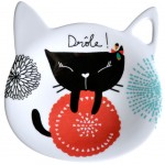 Cats saucer for tea bag