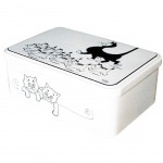 Cats by Dubout sugar box