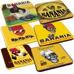 Banania Set of 6 coasters
