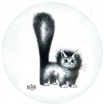 Cats by Dubout Pie dish
