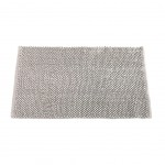 Cotton Bath Mat 50 x 80 cm - White