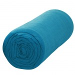 Fitted sheet turquoise 90 x 190 cm