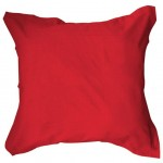 Pillow case 75 x 75 cm - red