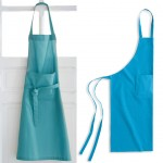 Blue Adult cotton apron